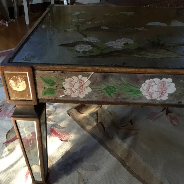 Green 1920's Chinoiserie Coffee Table For Sale - Image 8 of 9