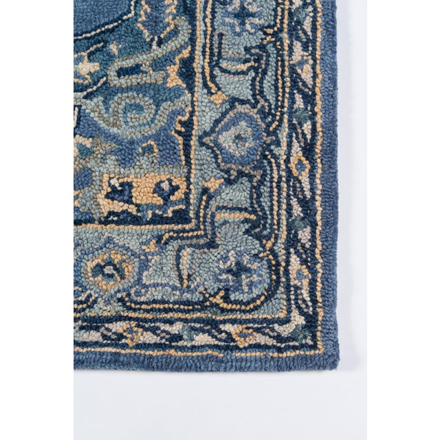 Traditional Ibiza Denim Hand Tufted Area Rug 3' X 5' For Sale - Image 3 of 8