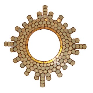 Sunburst Moroccan Mirror For Sale