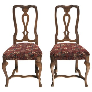 19th Century Continental Side Chairs - A Pair