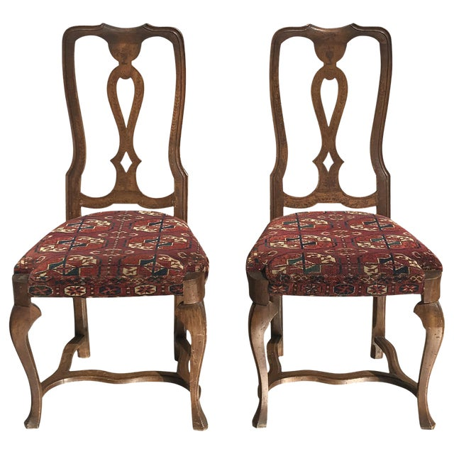 19th Century Continental Side Chairs - A Pair For Sale