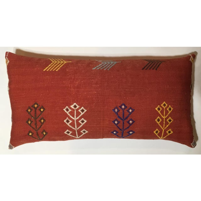 Moroccan Cactus Silk Pillow - Image 2 of 10