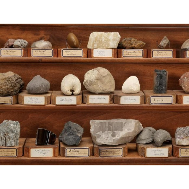 An absolutely incredible mineral specimen collection, recently removed from a French Monastery School, that was about to...