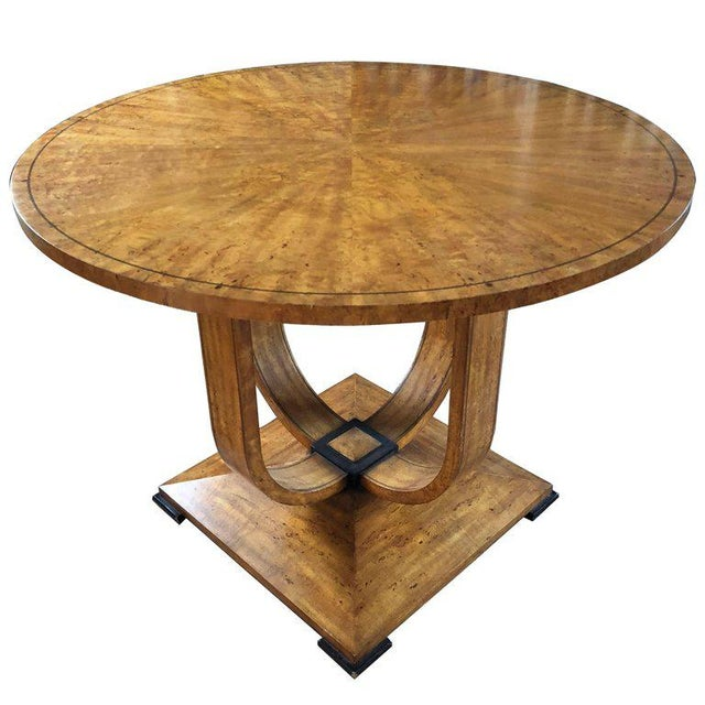 20th Century Biedermeier Style Center Table For Sale In Boston - Image 6 of 6