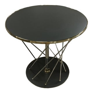 Contemporary Caracole Round Accent Table For Sale