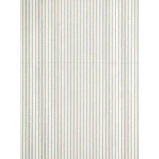 Scalamandre Kent Stripe Jacquard, Pearl Grey For Sale