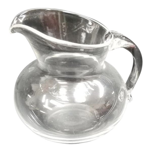 Vintage Steuben Crystal Creamer Holder For Sale