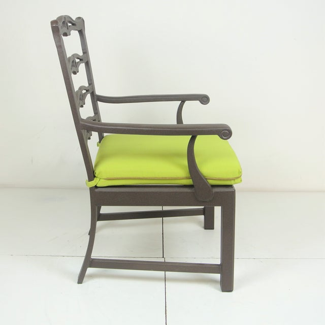 Arlington Dining Chair & Custom Fit Cushion For Sale In Los Angeles - Image 6 of 9