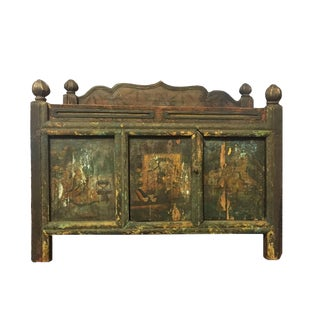 19th Century Tibetan Painted Chest For Sale