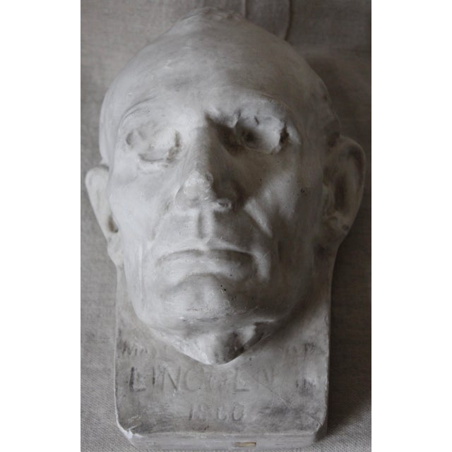 Plaster Abraham Lincoln Head/Mask - Image 4 of 6