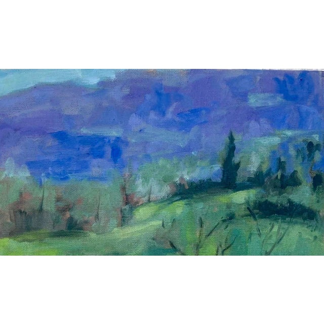 A Room With a View Original Landscape Oil Painting For Sale In San Francisco - Image 6 of 12
