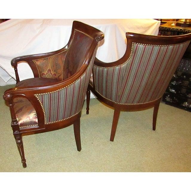 Regency Side Chairs - Pair - Image 3 of 6