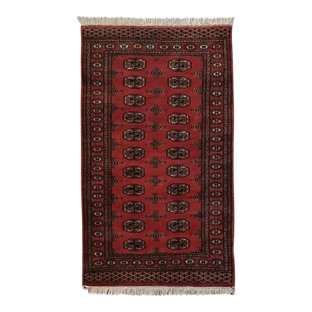 Vintage Hand Woven Persian Rug - 3′ × 5′7″ - Image 1 of 7