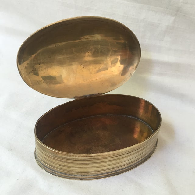 Vintage Brass Scarab Box - Image 3 of 5