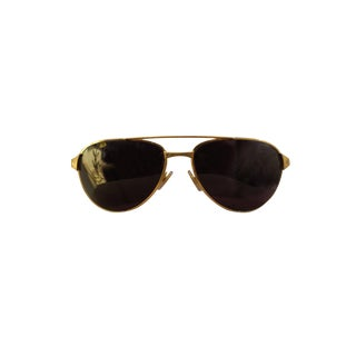 Gold Framed Cartier Santos Sunglasses, France For Sale