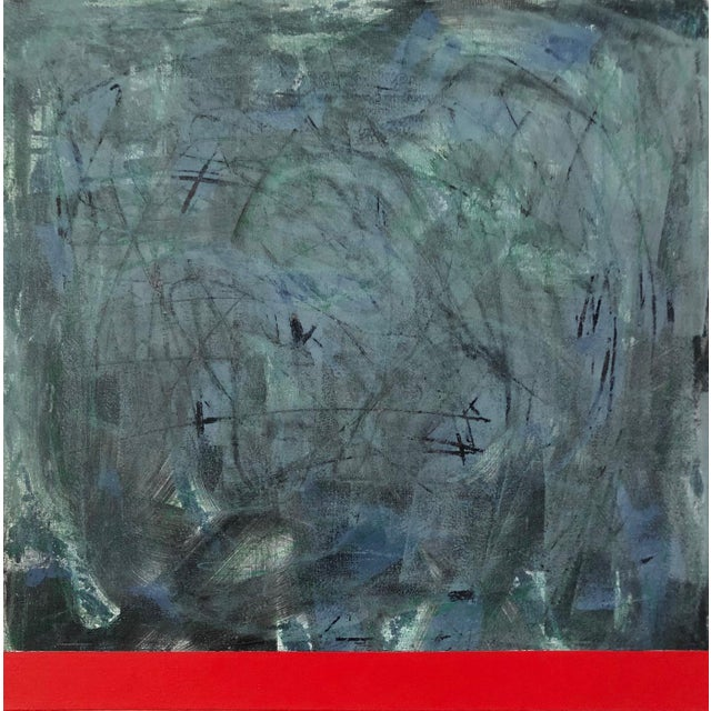 Original Modern Abstract Painting by Tony Curry For Sale
