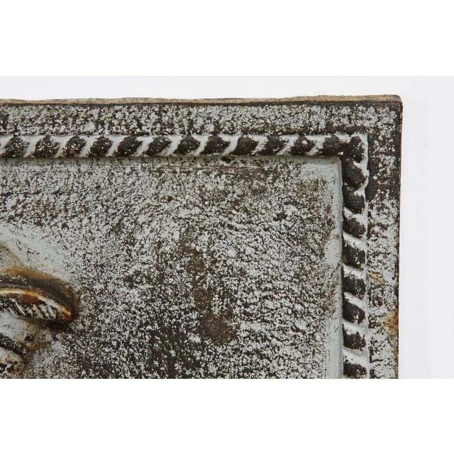 19th Century Cast Iron Hunt Plaque For Sale - Image 9 of 10