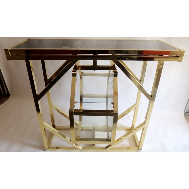 Brass Pivoting Octagon Display Bar - Image 5 of 11