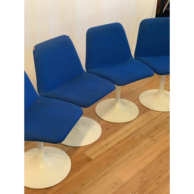 Danish Modern 1960s Vintage Borje Johanson Swivel Chairs- Set of 4 For Sale - Image 3 of 10