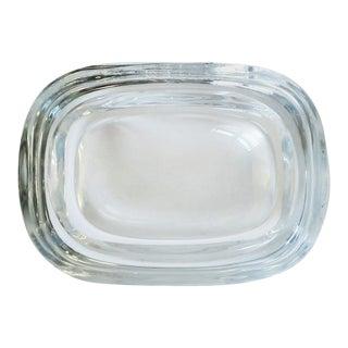 Scandinavian Modern Art Glass Jewelry Dish or Small Trinket Dish For Sale