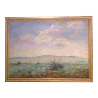C.1939 American Western Painting For Sale