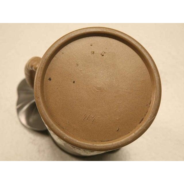 19th C. Antique English Polished Basalt Jug For Sale - Image 9 of 10