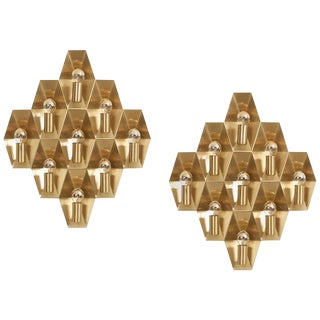 Pair of Wall Lights or Sconces by Hans-Agne Jakobsson For Sale