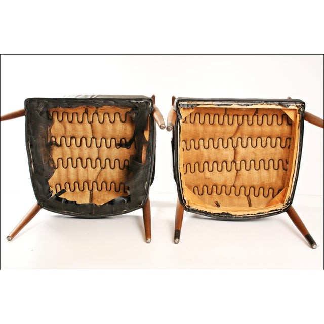 Danish Modern Accent Chairs - Pair - Image 11 of 11