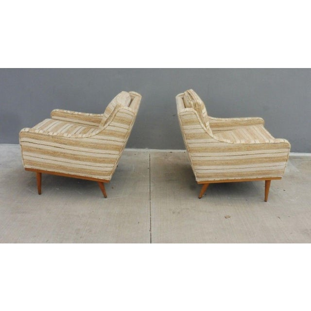 1960s Mid-Century Modern Milo Baughman for James Inc Articulate Lounge Chairs - a Pair For Sale In Miami - Image 6 of 11