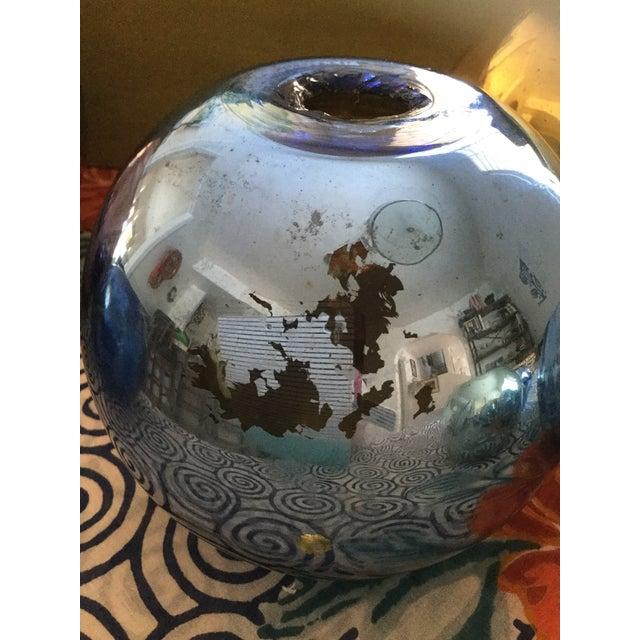 Vintage Czech Mercury Glass Vases - Set of 9 For Sale - Image 9 of 12