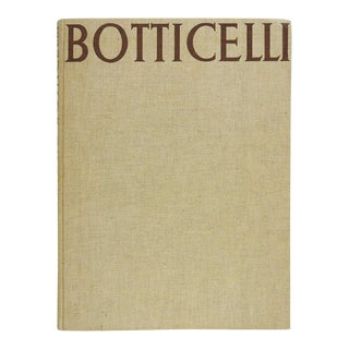 Botticelli 1937 1st Edition Book