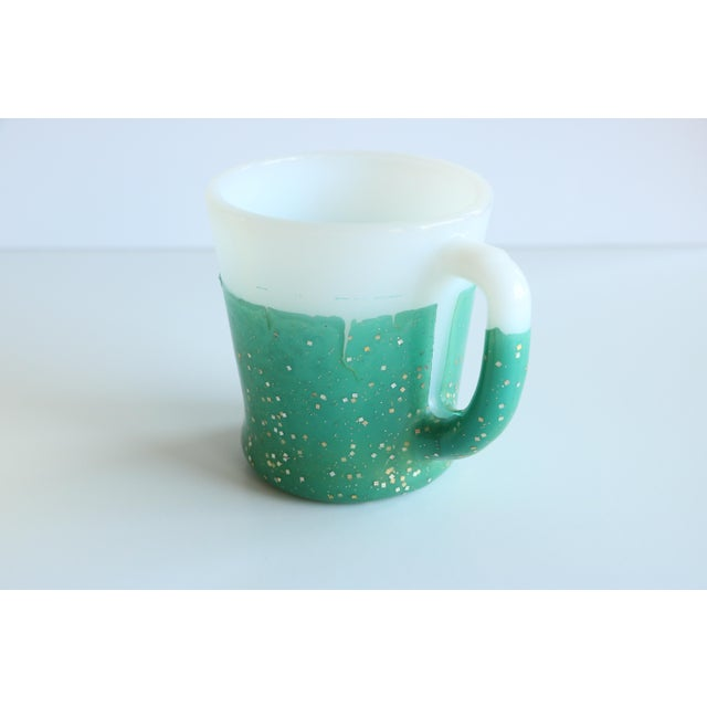 Glamalite Glitter Mugs in Caddy by Fire-King - Set of 8 - Image 9 of 11