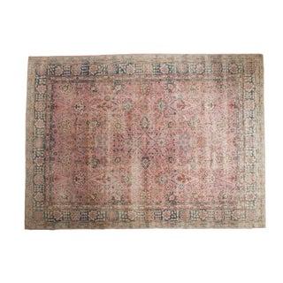 "Vintage Distressed Sparta Carpet - 8'2"" X 11'2"" For Sale"