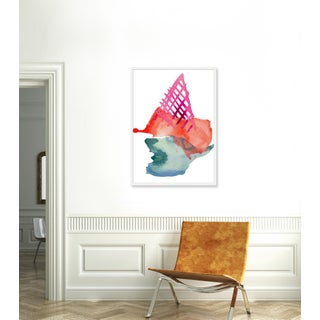 """Large """"Strawberry Cone"""" Print by Kate Roebuck, 30"""" X 42"""" Preview"""