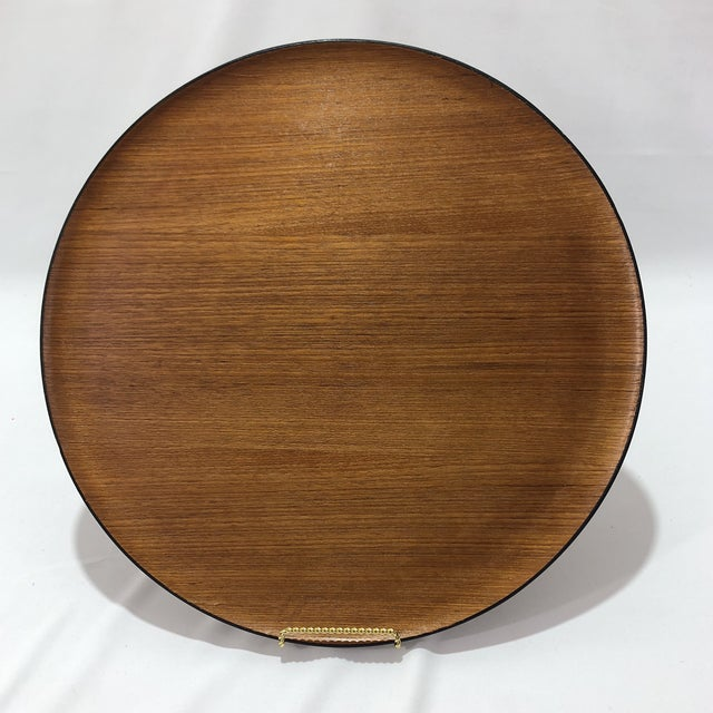 Mid-Century Herman Miller Walnut Tray For Sale In Austin - Image 6 of 9