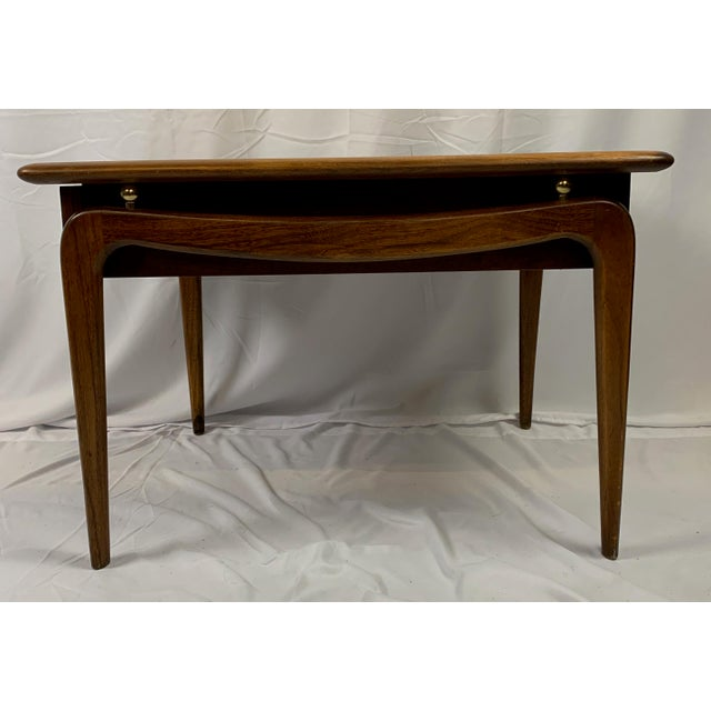 Mid-Century Modern 1960s Lane Perception Walnut End Table For Sale - Image 3 of 8