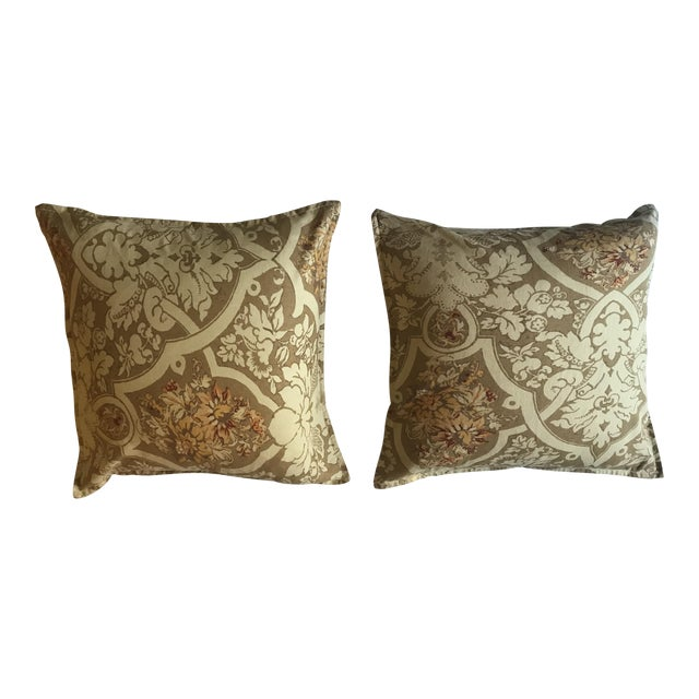 Pottery Barn Pillows - A Pair For Sale