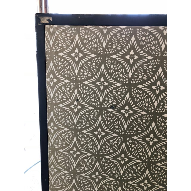 Antique Chinese Paper Screen - Image 5 of 7