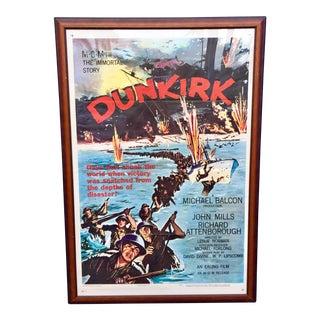 Vintage 'Dunkirk' Movie Poster For Sale