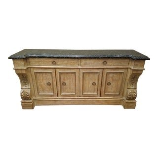 Artifacts International Granite Top Buffet