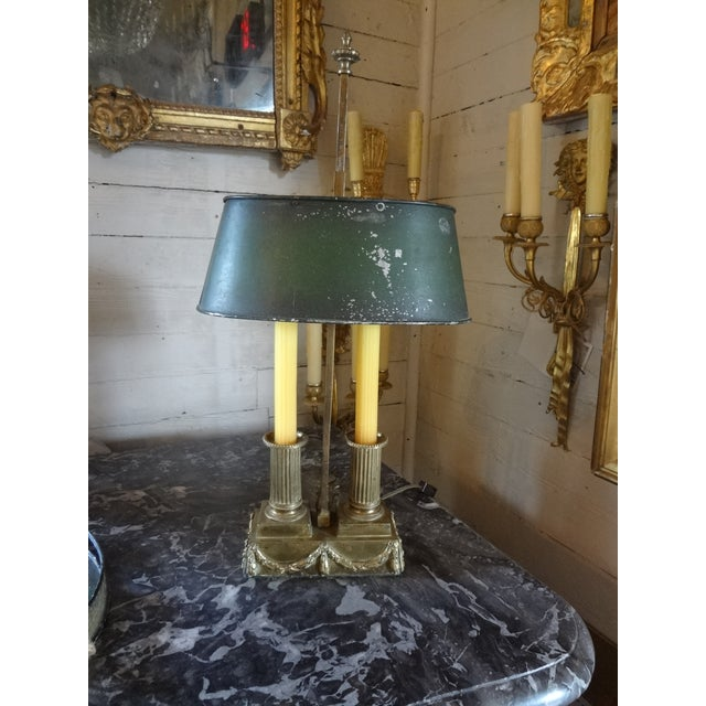 19th Century French Bouillotte Lamp For Sale - Image 9 of 11