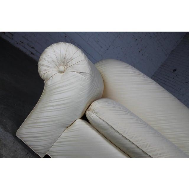 1976 Vintage White Donghia Sofa - Image 9 of 11