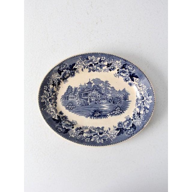 Ceramic Thomas Hughes & Son Ironstone Platter For Sale - Image 7 of 9