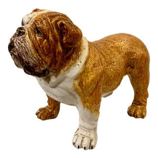 Italian Terracotta Bulldog For Sale