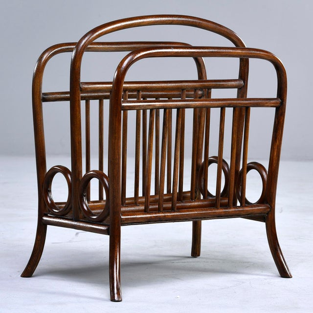 Early Thonet Bentwood Magazine Rack For Sale - Image 12 of 12