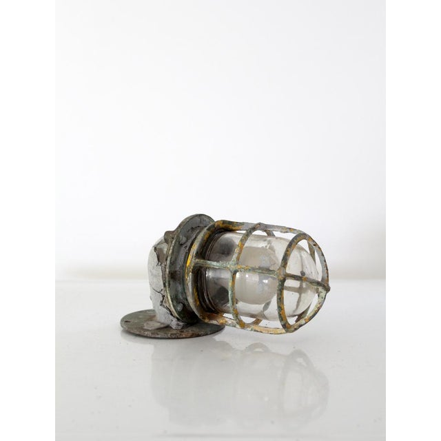 Vintage Boat Sconce For Sale - Image 4 of 7