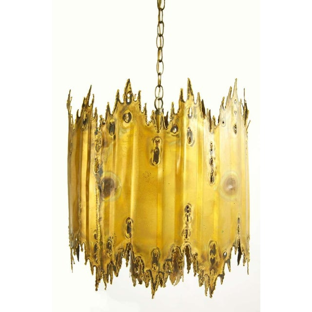 Tom Greene Torch Cut Chandelier