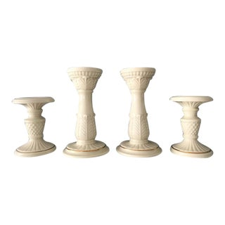 Lenox Pillar Candle Holders - Set of 4