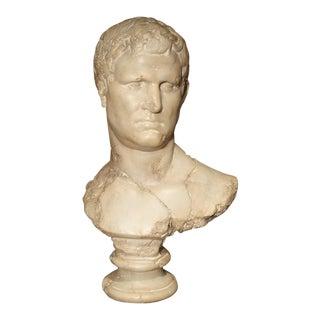 Italian Bust of Marcus Vipsanius Agrippa For Sale