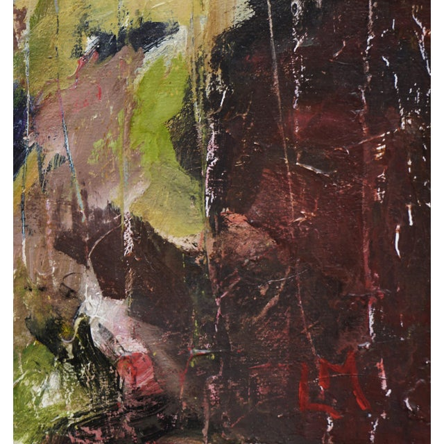 """2010s Laurie MacMillan """"Natural Progression"""" Abstract Painting, Framed For Sale - Image 5 of 6"""